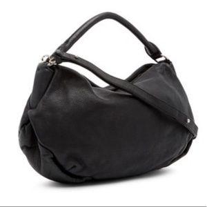 Liebeskind Thabala Leather Washed Shoulder Bag